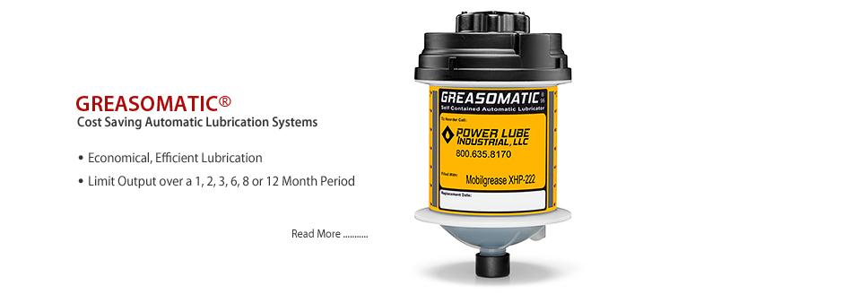 Greasomatic, the cost saving lubricator