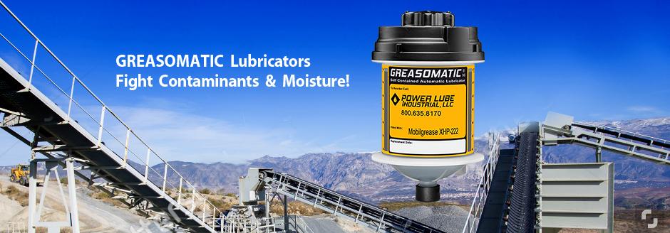 Greasomatic -- Crushers - Conveyors - Screens - Pumps - Mills