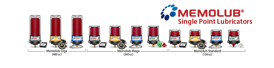 Memolub Single-Point Automatic Lubricators | Power Lube Industrial