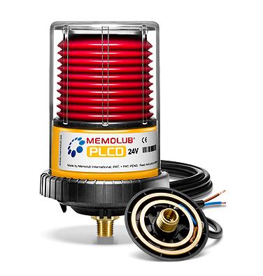 MEMOLUB 24VDC-PLCd Single-Point Lubricator | Power Lube