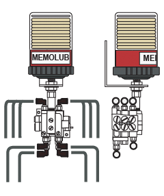 Memolub Multi-Point MPS-10 Lubricator | Power Lube Industrial