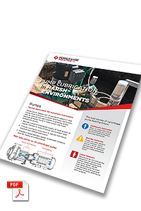 Pump lubrication in harsh environments