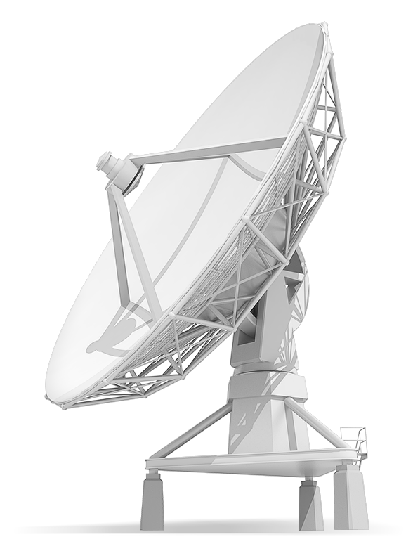 Earth station antennas require regular lubrication to ensure uninterrupted communication with orbiting satellites
