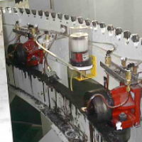 Memolub Multi Point System -- Rollers & Drive Assembly - Municipal Water Treatment Facility