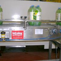 Greasomatic - Bottling Conveyor with Exposure to High Pressure Washdown | Power Lube Industrial